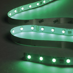 Led tape colour change green