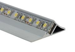 Surface Mounted Angled LED Profile