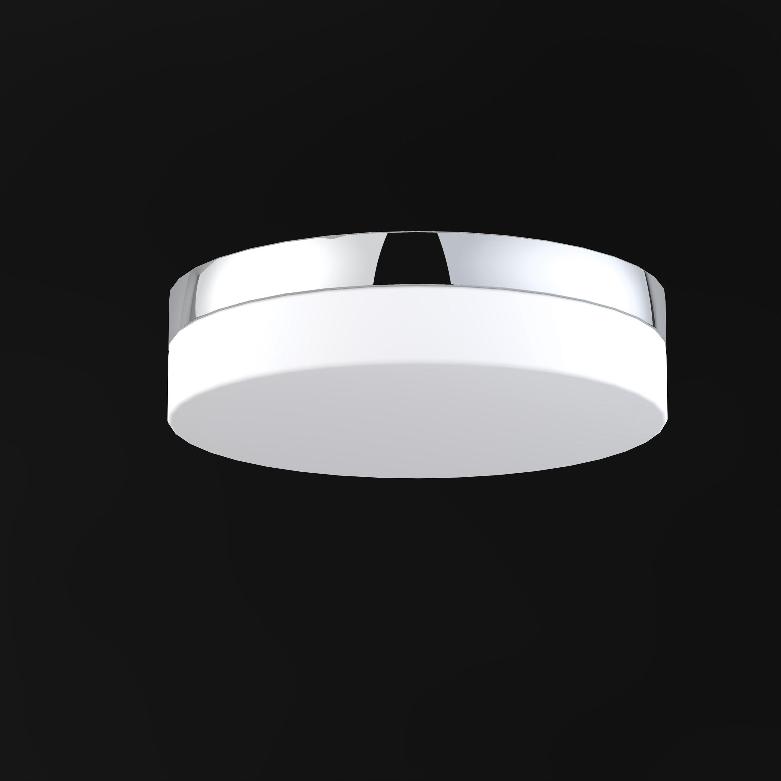 Drum Style Led Bathroom Ceiling Light Leyton Lighting