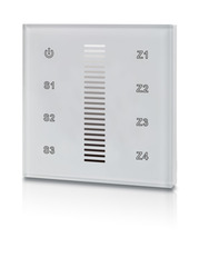Wall Mounted Single Colour Radio Frequency Dimmer - White