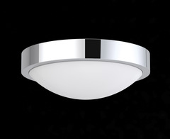 Domed Circular LED Bathroom Ceiling Light