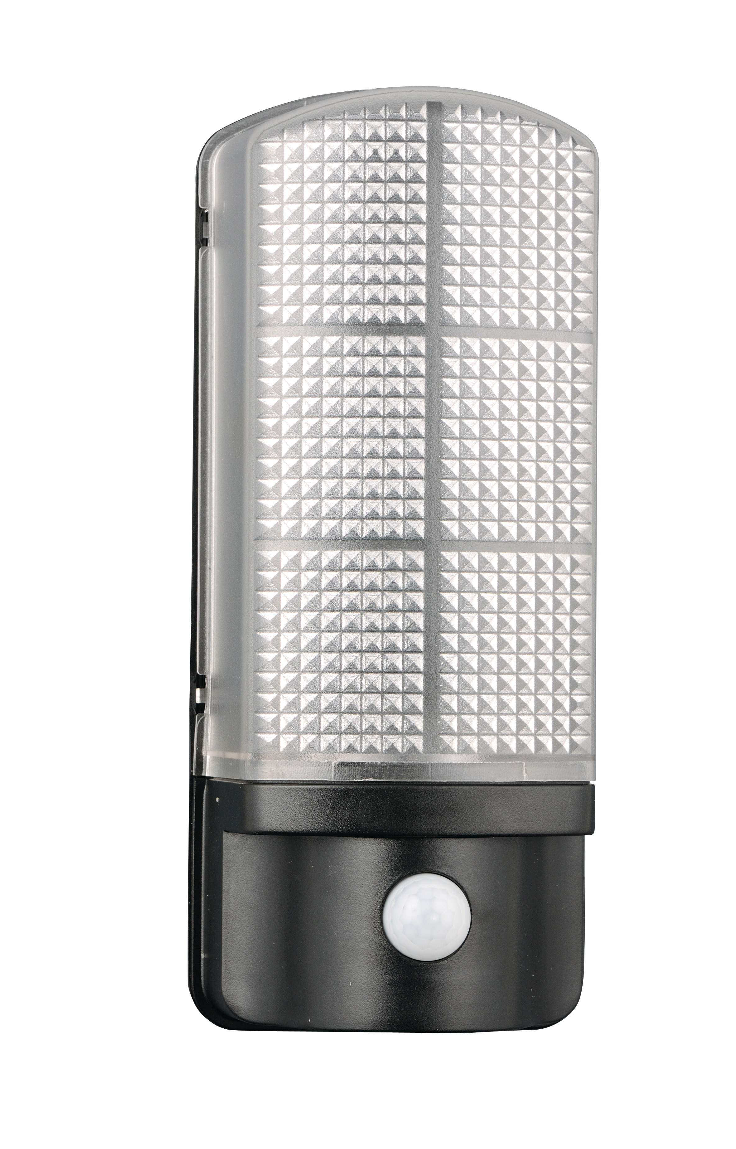 Epping led exterior wall light with day night photocell with pir leyton lighting for Exterior wall lights with photocell