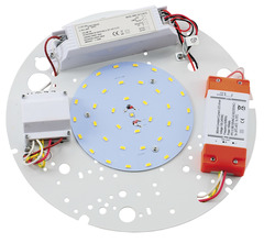 2D LED Gear Tray - 3hr Emergency & Microwave with HI-LO