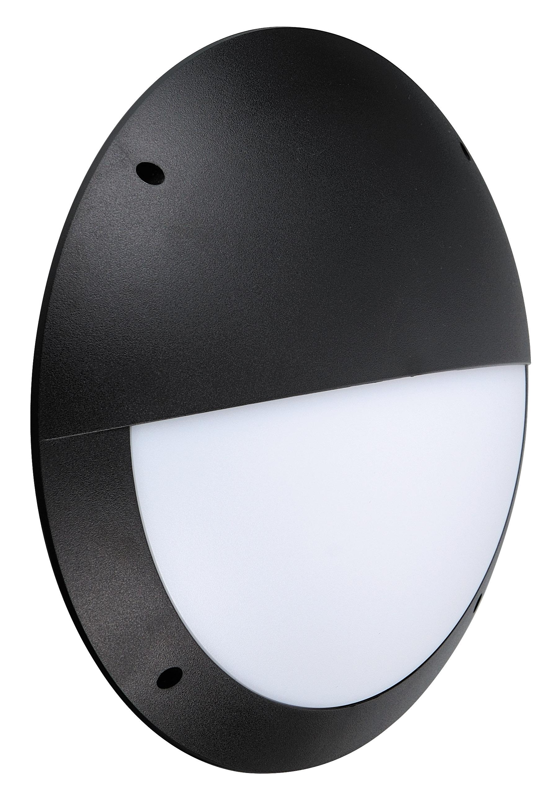 Cannock Led Slim Bulk Head Light Eyelid Leyton Lighting