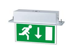 LED Recessed Ceiling Exit