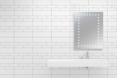 IP44 Bathroom Mirror with Perimeter LEDs